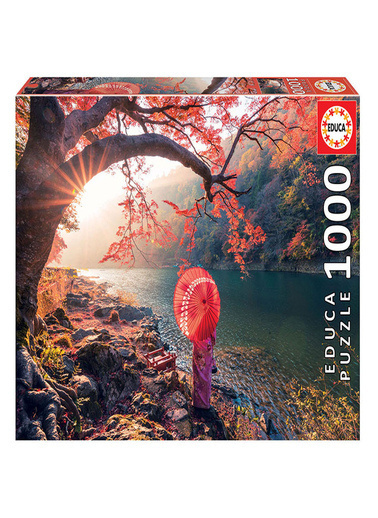 Educa Educa Puzzle 1000 Parça Katsura Riverde Gündoğumu 18455 Renkli
